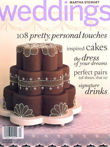 Martha Stewart Weddings<br>Fall 2006