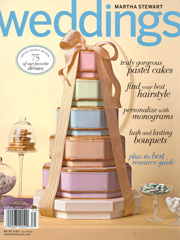 Martha Stewart Weddings<br>Spring 2007