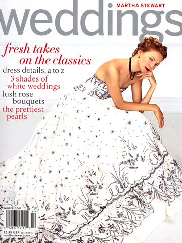 Martha Stewart Weddings<br>Winter 2007