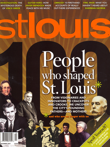 St. Louis Magazine<br>December 2007