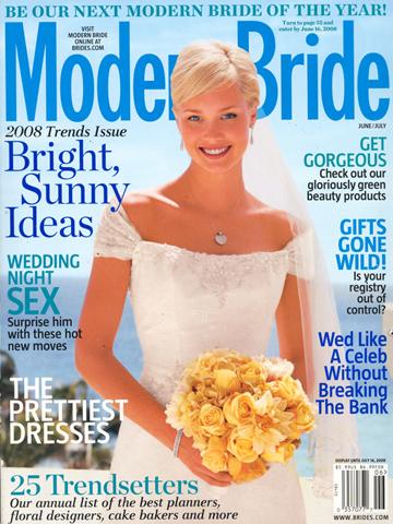 Modern Bride<br>Summer 2008