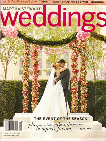 Martha Stewart Weddings<br>Winter 2008