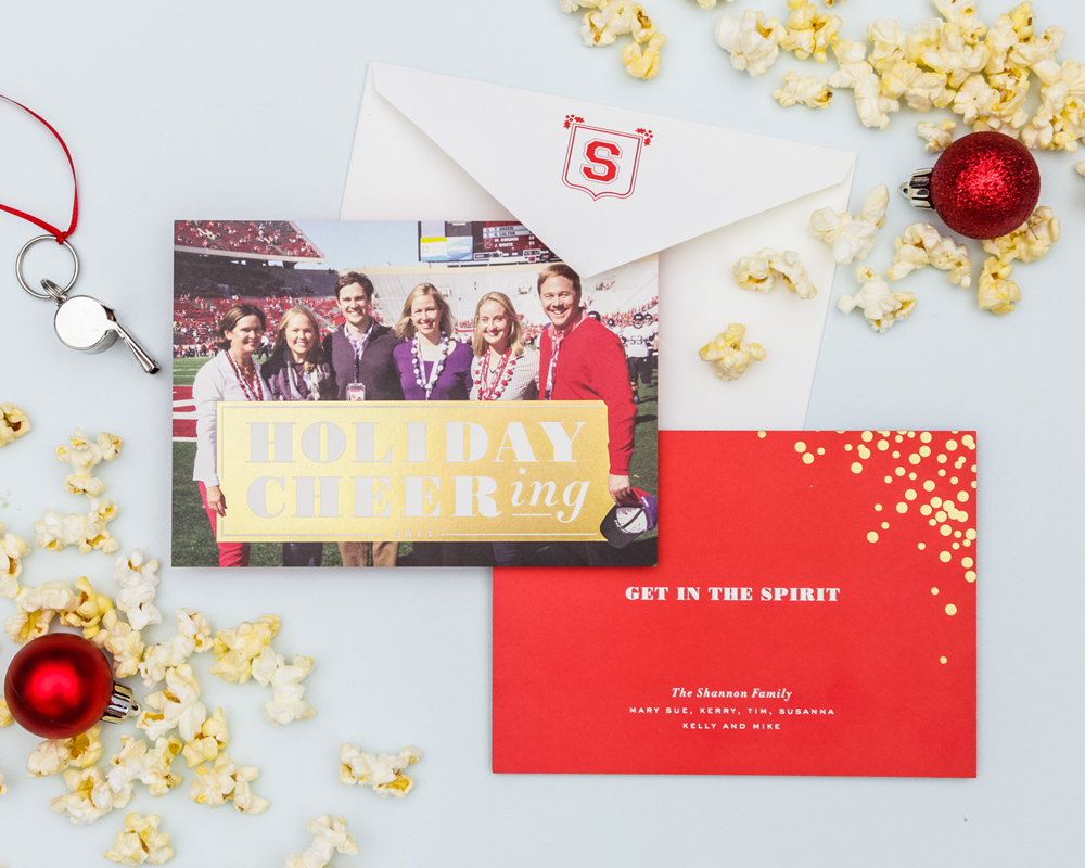 Custom Holiday Cards Cheree Berry Paper