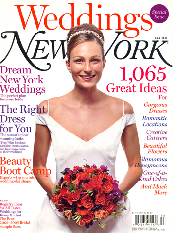 New York Weddings<br>Fall 2005