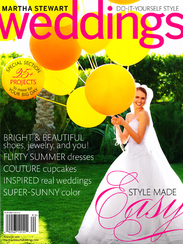 Martha Stewart Weddings<br>Summer 2009