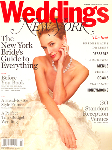 New York Weddings<br>Winter 2009