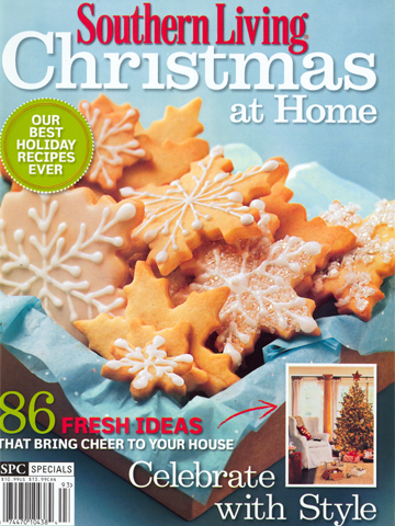 Southern Living Christmas<br>Winter 2009