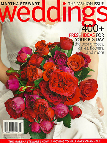 Martha Stewart Weddings<br>Fall 2010