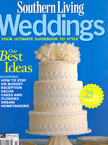 Southern Living Weddings<br>January 2011