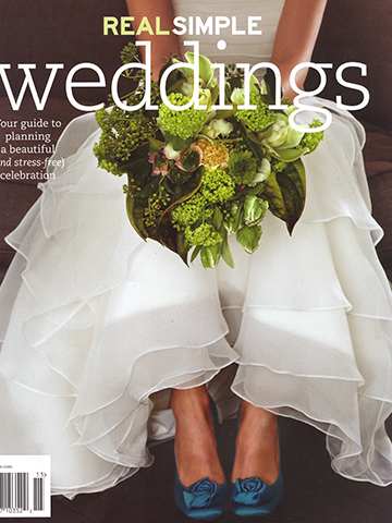 Real Simple Weddings<br>January 2011