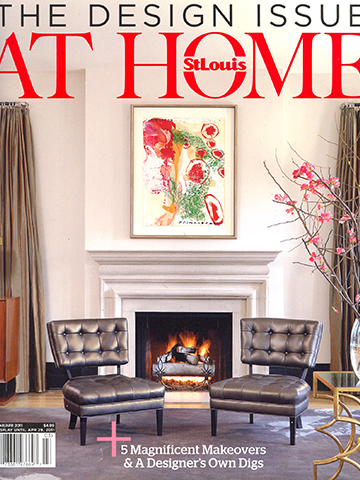 St. Louis Magazine At Home<br>March 2011