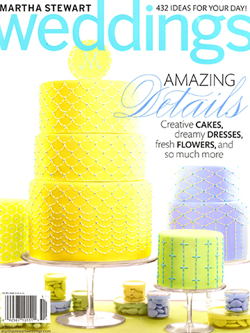Martha Stewart Weddings<br>Spring 2011