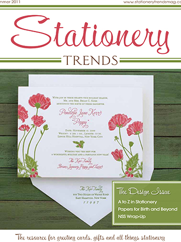 Stationery Trends<br>Summer 2011