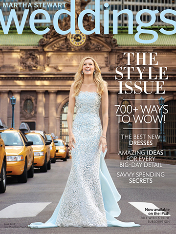 Martha Stewart Weddings<br>Fall 2012