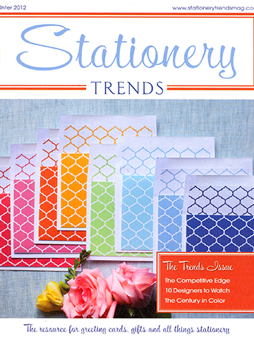 Stationery Trends<br>Winter 2012