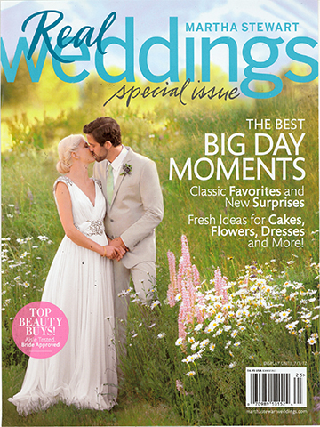 Martha Stewart Real Weddings<br>2012