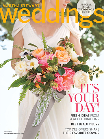 Martha Stewart Weddings<br>Spring 2013