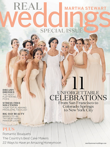 Martha Stewart Real Weddings<br>2014
