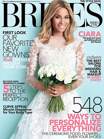 Brides<br>August 2014