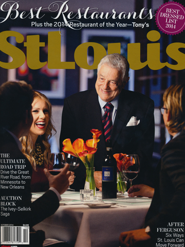 St. Louis Magazine<br>October 2014