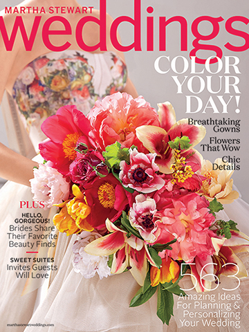 Martha Stewart Weddings<br>Spring 2015