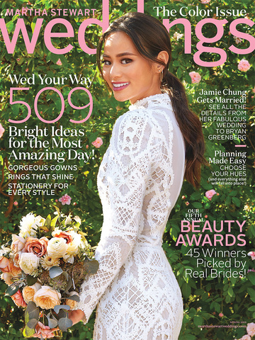 Martha Stewart Weddings<br>Spring 2016