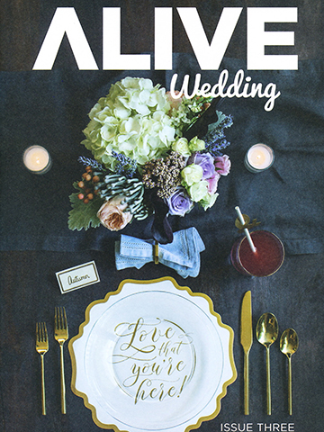 Alive Wedding<br>Issue 3 | July 2016