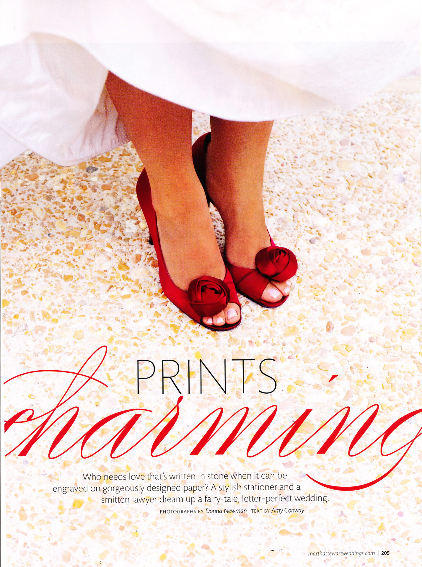 Martha Stewart WeddingsSummer 2009 - Cheree Berry Paper
