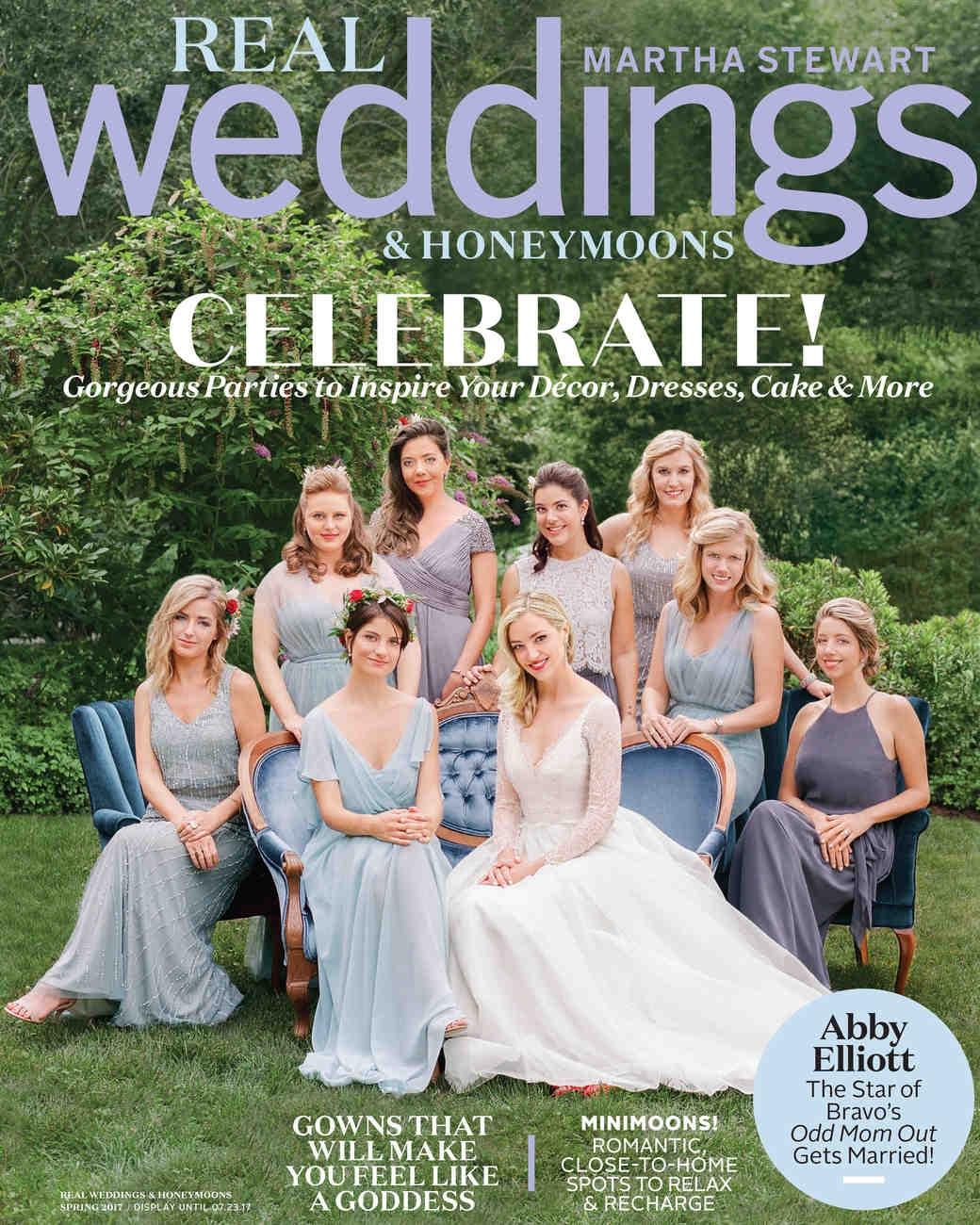Martha Stewart Real Weddings<br>Spring 2017
