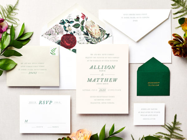 Low Country Love Wedding Invitation