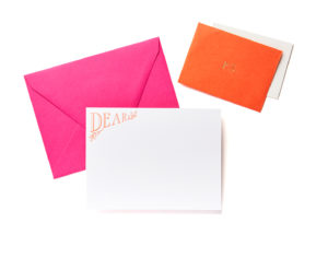 Dear / P.S. Boxed Stationery