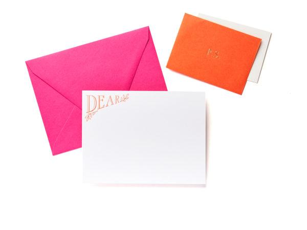 Dear / P.S. Boxed Stationery