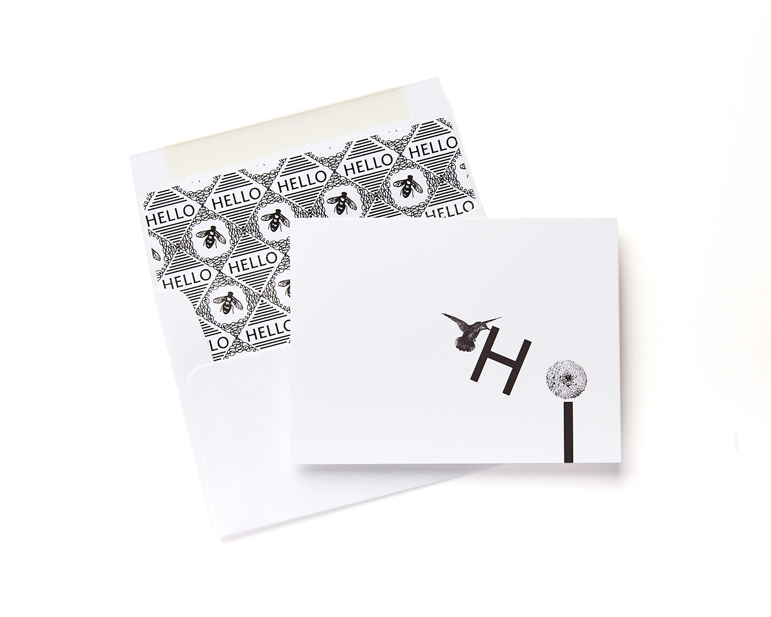hummingbird thank you note