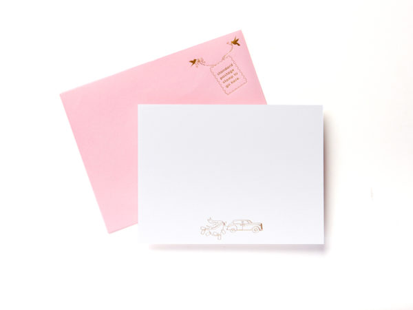Just Married Boxed Stationery