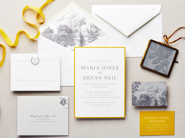 The Perfect Day Wedding Invitation