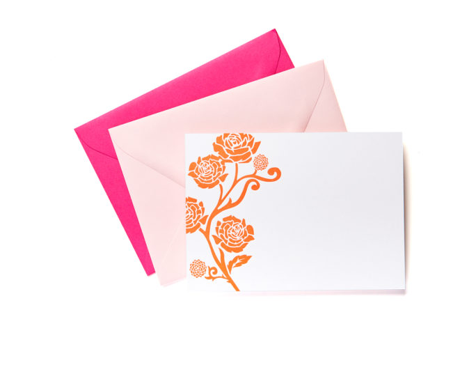 Rose is a Rose  Boxed Stationery