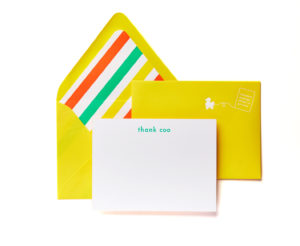 Thank Coo Boxed Stationery