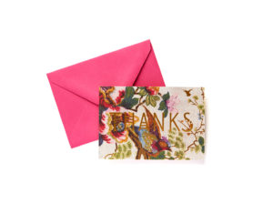 Thanks Floral Boxed Stationery