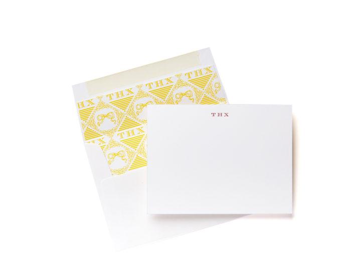 THX  Boxed Stationery