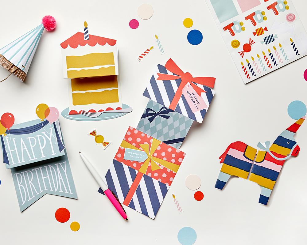 Expanding Birthday Card Set Cheree Berry Paper