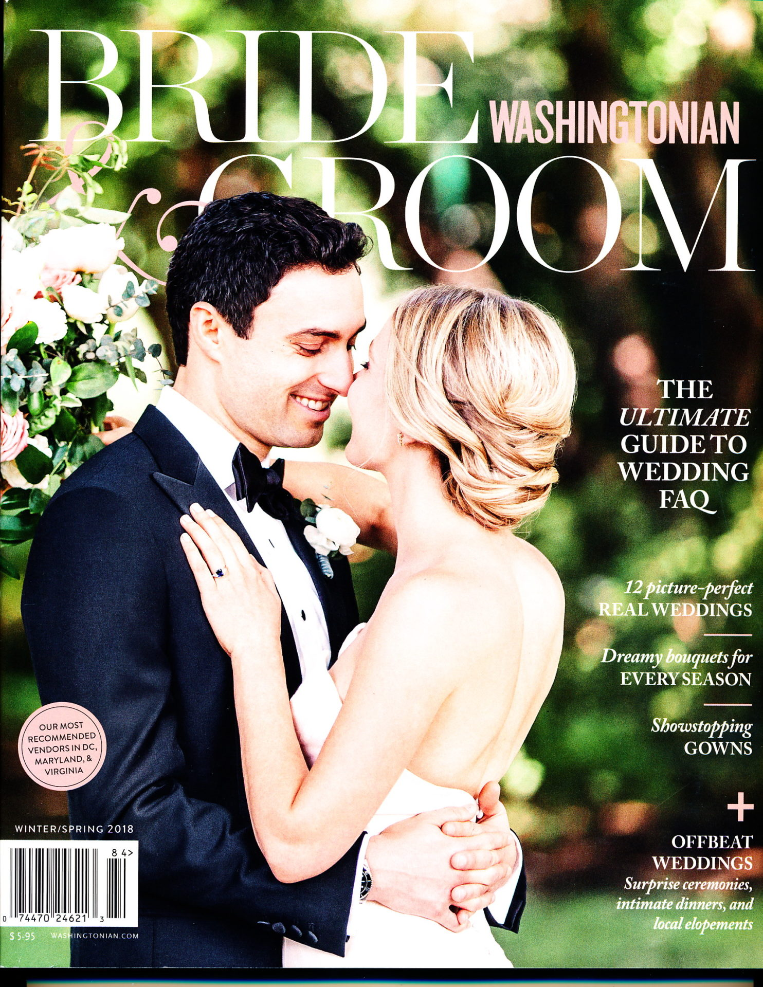 Washingtonian Bride & Groom<br> Winter/Spring 2018