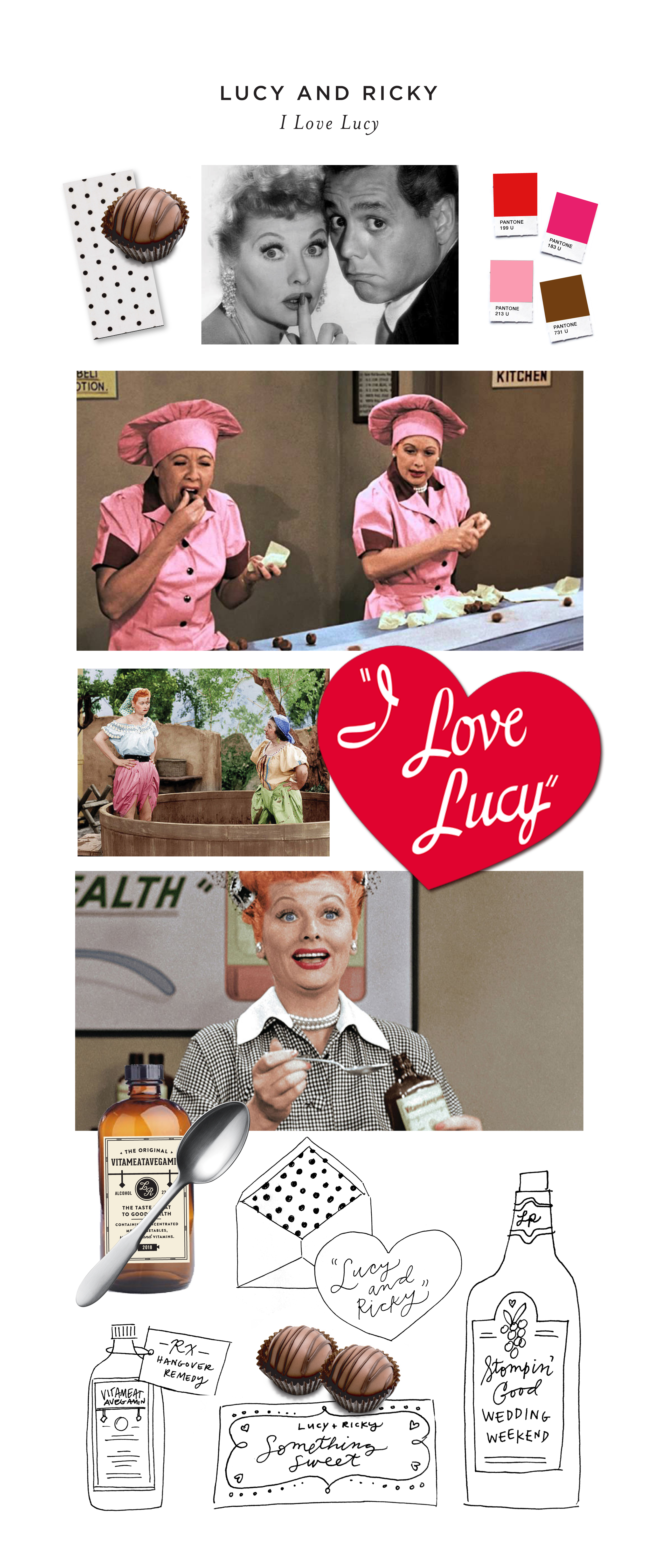 Famous Couples\' Wedding Invitation Challenge: I Love Lucy\'s Lucy and ...