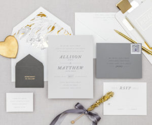 Marble-ous Wedding Invitation