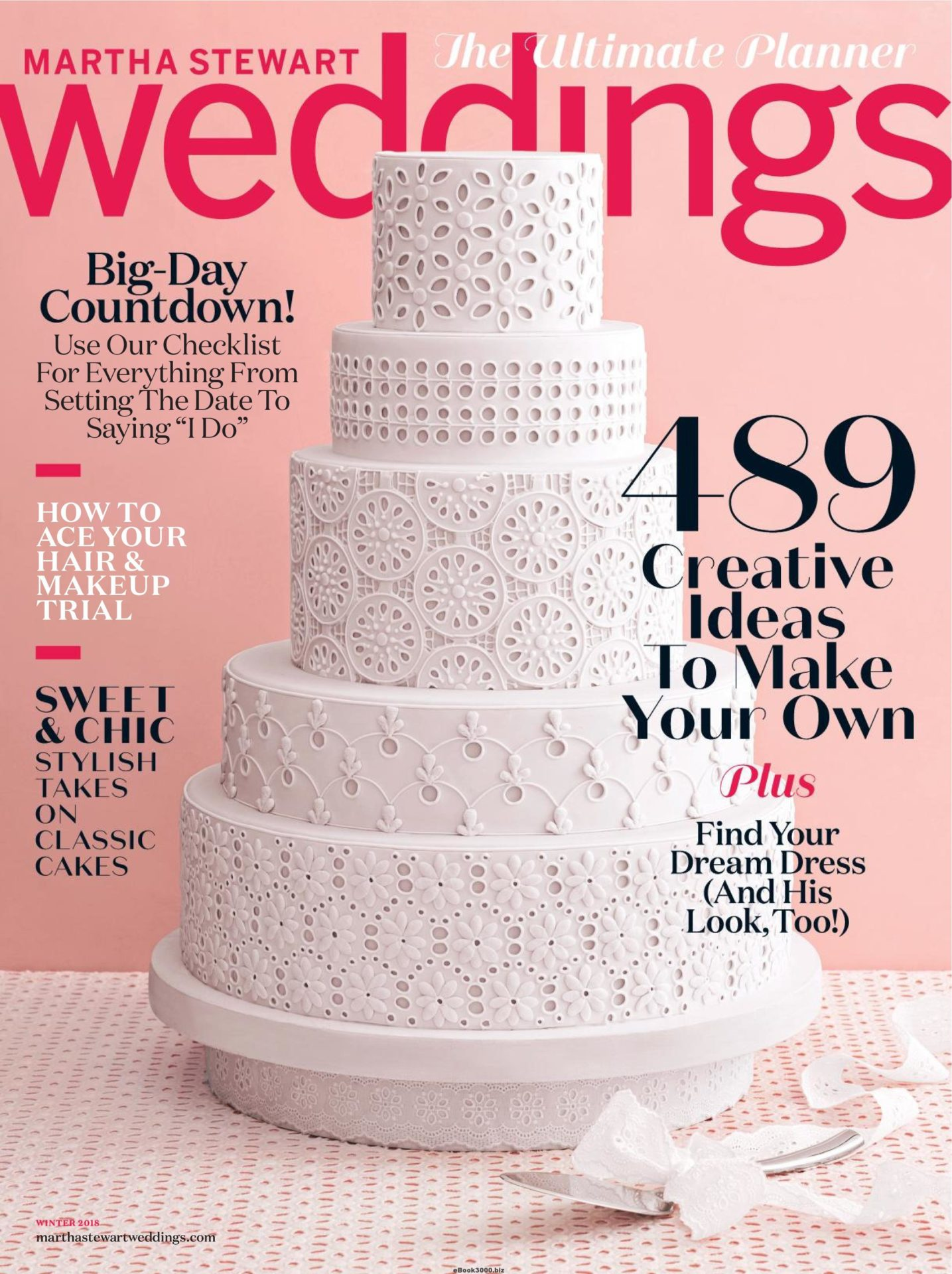 Martha Stewart Weddings<br>Winter 2018