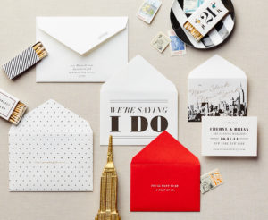NYC Envelope Series  Save The Date