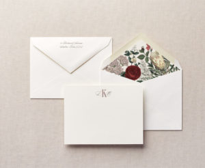Beautiful Botanicals Personalized Stationery