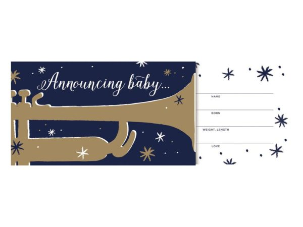 Bugle Boy Baby Announcements