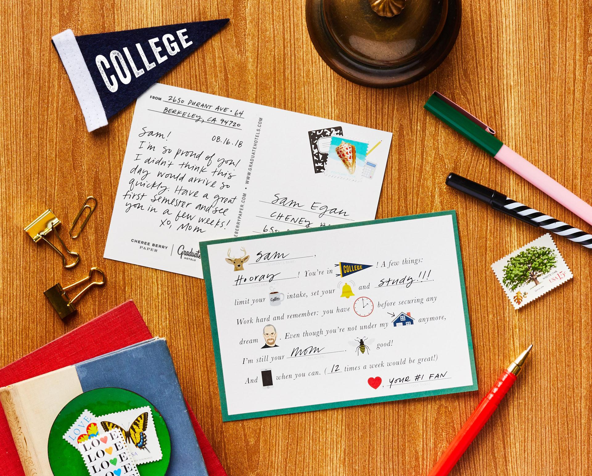 Graduate Hotels Postcard
