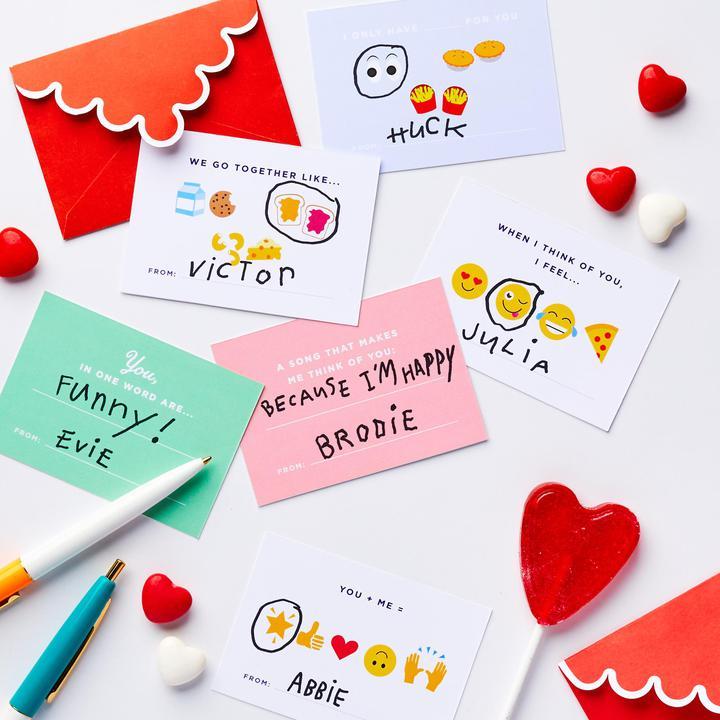 V-Day Cards for Little Kids