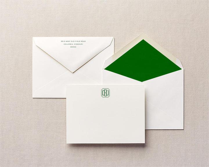 cufflink notecards